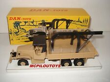 DAN TOYS DAN-093 TRUCK GMC MILITARY TROUBLESHOOTING sand in the 1/43°