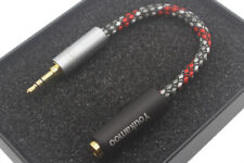3.5mm Male to 4.4mm Female 8 Core Silver Plated Headphone Audio Adapter Cable