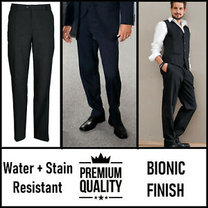MENS FORMAL TROUSERS HOSPITALITY WEDDING CATERING WAITER STAFF UNIFORM
