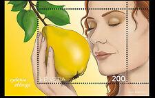 Zwitserland  2017  Peer fruit  geurzegel   blok-m/s     postfris/mnh