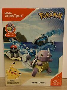 Pokemon Wartortle - Mega Construx, New & Sealed