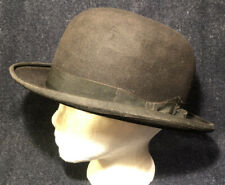 Antique Wool Bowlers or Derby Hat! By DAYTONS MEN STORE MLPS, MN! Damaged, 6 7/8