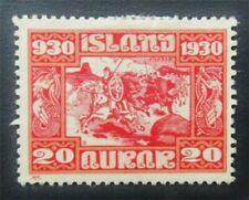 nystamps Iceland Stamp # 157 Mint Og H $45 J15y926