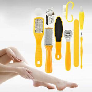 10pc Foot Pedicure Tools Set Exfoliating Scrub Prevent Dead Skin Remove Manicure