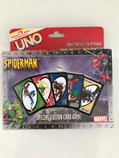 UNO US #1brand of Games Present Marvel Spiderman Special Edition Card Game 2002