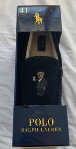 Polo Ralph Lauren Black Tuxedo Martini Bear Slippers UK7 / EU41 Boxed