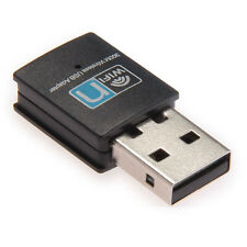 300Mbps Wireless Usb Adapter Wifi Internet Dongle For Xp Vista Windows 7 8 10