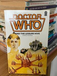 doctor who target book -  THE LEISURE HIVE