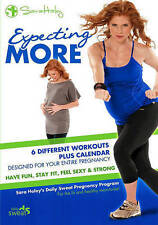 Sara Haley: Expecting More - Daily Sweat Pregnancy Program (DVD, 2012) NEW