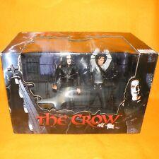 2005 NECA reeltoys el Cuervo Eric Draven Vs Top Dollar Figura en caja Set SEALED