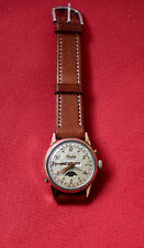 Vint Breitling DATORA moon phase  ref 244-94 gold & stalinles  NO RESERVE PRICE