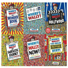 Where's Wally Collection 6 Books Set Fantastic Journey and Great Picture Hunt