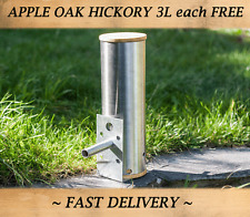 Cold smoke generator-small hot & cold smoking in bbq & food smoker + copeaux de bois