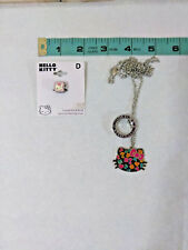 Vtg Sanrio 1976, 2008 Hello Kitty Necklace & New Sterling Silver Bead