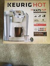 Keurig K475 Single Serve K-Cup Coffee Maker - Cream/Vanilla Color