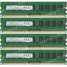 Samsung 32GB (4X8GB) PC3L-12800E DDR3-1600Mhz 1.35V DIMM / Server Memory Ram