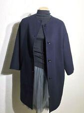 MaxMara Studio dark navy wool cocon coat Size AU10