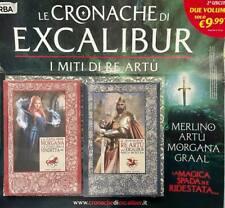 Libro Collana Cronache di Excalibur Miti Re Artù n 2 Due Volumi Morgana Artù RBA