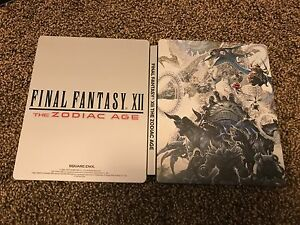 Final Fantasy XII The Zodiac Age Steelbook only