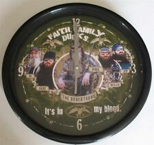 "Duck Dynasty Clock by the Memory Company, 12"" Diameter"