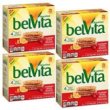 Belvita Breakfast Biscuits, Cranberry Orange (Pack of 4)