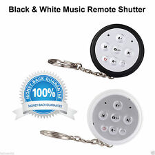 2 in 1 Wireless Bluetooth Remote Shutter Camera Self Timer Music Remote Control