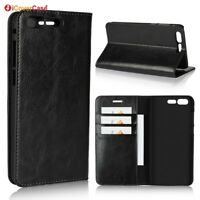 Luxury Genuine Leather Wallet Flip Case Cover For Asus Zenfone 4 Pro ZS551KL