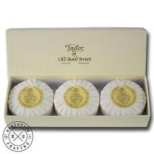 Taylor of Old Bond Street Sandalwood Hand Soap Gift Box 3 x 100 g (7140)