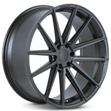 "(4) 24"" Ferrada Wheels FT1 Matte Black Rims (B3)"