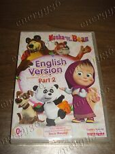 Masha and Bear Part 2 English sound. Corporate license COMPLETE edition (DVD)