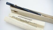 More details for nice eversharp four square pencil, in box, blue & black, made in usa, 1940's