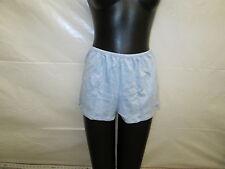 Fancee Me 6581 Heather Blue Shorts SIZE XL X-Large  100% Cotton