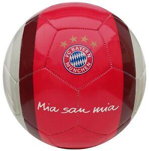 "FC Bayern München ""Mia san mia"" Fußball Ball Fanball FCB Rekordmeister Ball"