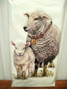 "Mary Lake Thompson ""Spring Sheep"" Flour Sack Towel"