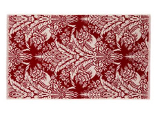 2 x Christy Addison hand towels - wine colour