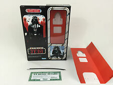 "custom star wars return of the jedi 12""  darth vader box + inserts"