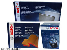 ORIGINAL Bosch Filtersatz Ölfilter Luftfilter Innenraumfilter P9243 S3102 M2097