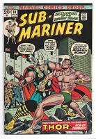 The Sub-Mariner # 59 Marvel Comics 1973 Tamara / Vashti / Thor / Namorita