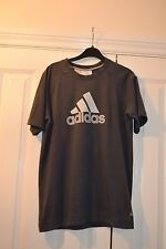 Grey Adidas Top. 100% cotton. size 32/34 youth.