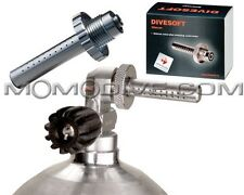 Divesoft silencer teaching silencer to empty Air from cylinder sub
