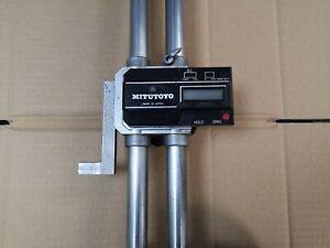 "Mitutoyo 0-24"" / 0—600mm Digital Height Gauge, Parts Only"