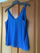 Size 10 Topshop turquoise strappy cami