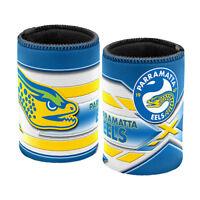 NRL Stubby Can Cooler - Parramatta Eels - Drink - Rubber Base - Neoprene