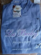 Le Beeby hairdressing / beauty tunic size 8 lavender. Chandelle. BNIP.
