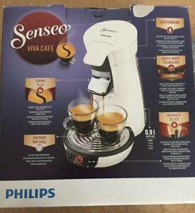 Senseo Kaffeepadmaschine HD6563/00 - Viva Cafe Kaffeepadmaschine weiß