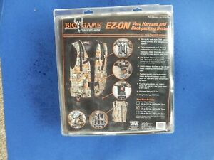 Big Game EZ-On Vest Harness and Back-packing System-Large/X-Large