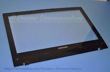 """Samsung NP-QX410 14.0"""" Front LCD BEZEL + Glass w/Webcam Port QX410 BA75-02662A"""