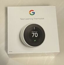 Brand New Google - Nest Learning Thermostat - 3rd Generation - WHITE - T3017US