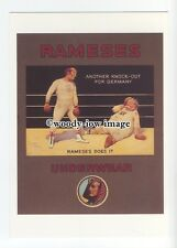 ad0720 - Rameses Underwear - Boxing Ring , Knock Out -  Modern Advert Postcard