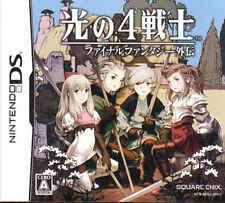 [FROM JAPAN][NDS] Final Fantasy: The 4 Heroes of Light [Japanese]